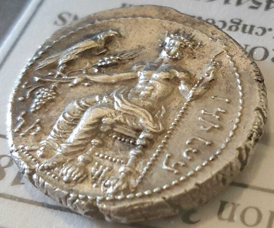 Estátera de Cilicia acuñada por el sátrapa Maceo (361-334 a.n.e.) Lado10