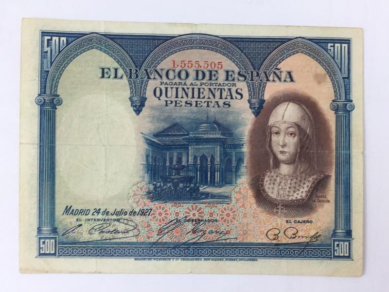 500 Pesetas 1927 (Isabel la Católica) Img_7011