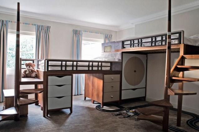 غرف نوم للاطفال 2018 بتصاميم مميزه 149
