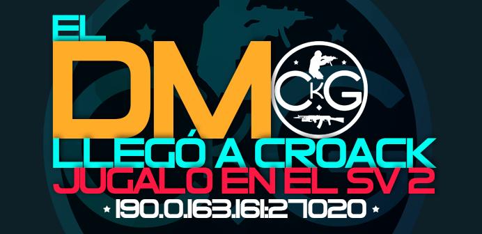¡El DM llegó a CroacK! (con otros cambios) Banner11