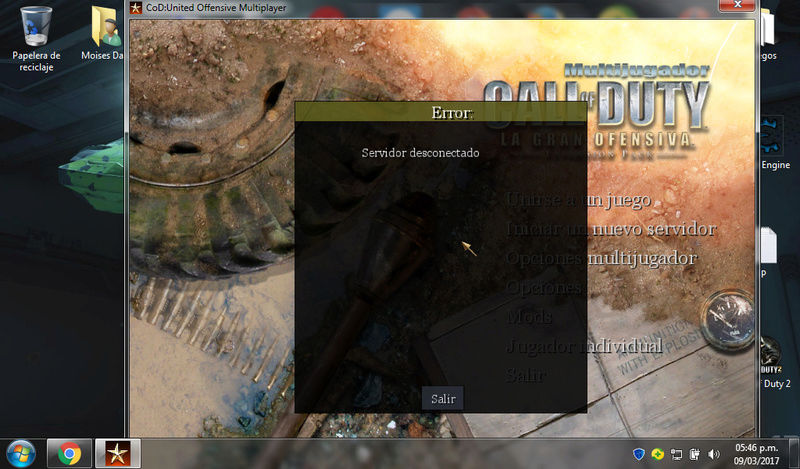 "[LMT]Server public error ""Servidor Desconectado"" COD UO Error_10"