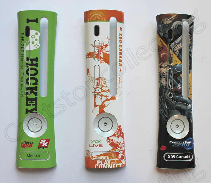 ULTRA RARE Faceplate xbox 360 canadian's launch team  16522310