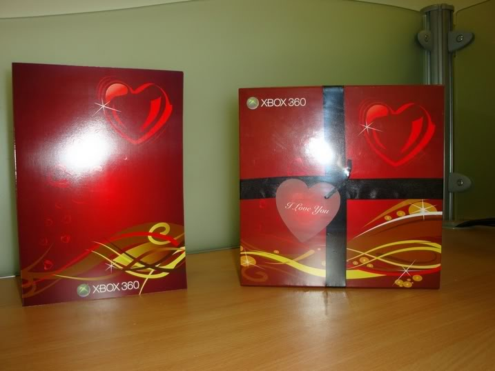 LIMITED EDITION Manette xbox 360 Valentines  Dsc00014