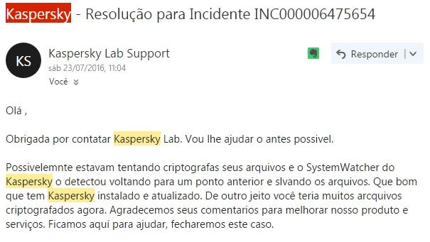 System Watcher - Kaspersky Kasper10