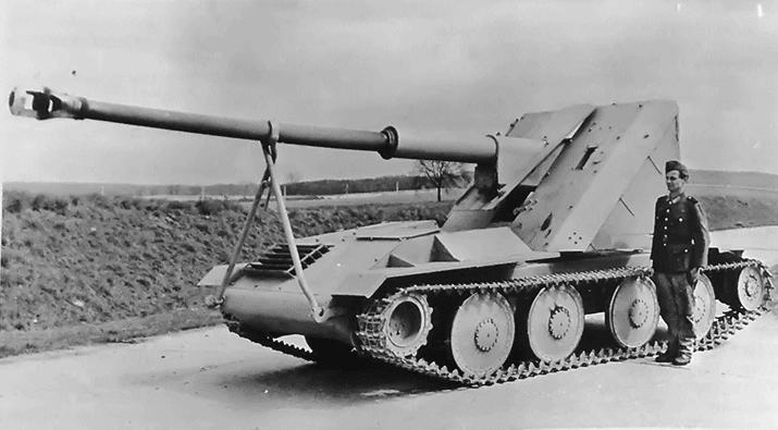 ARK Models 1/35 Pak 43/3 Waffentrager Waffen14