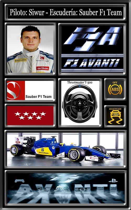SAUBER F1 TEAM AVANTI 14_lic10