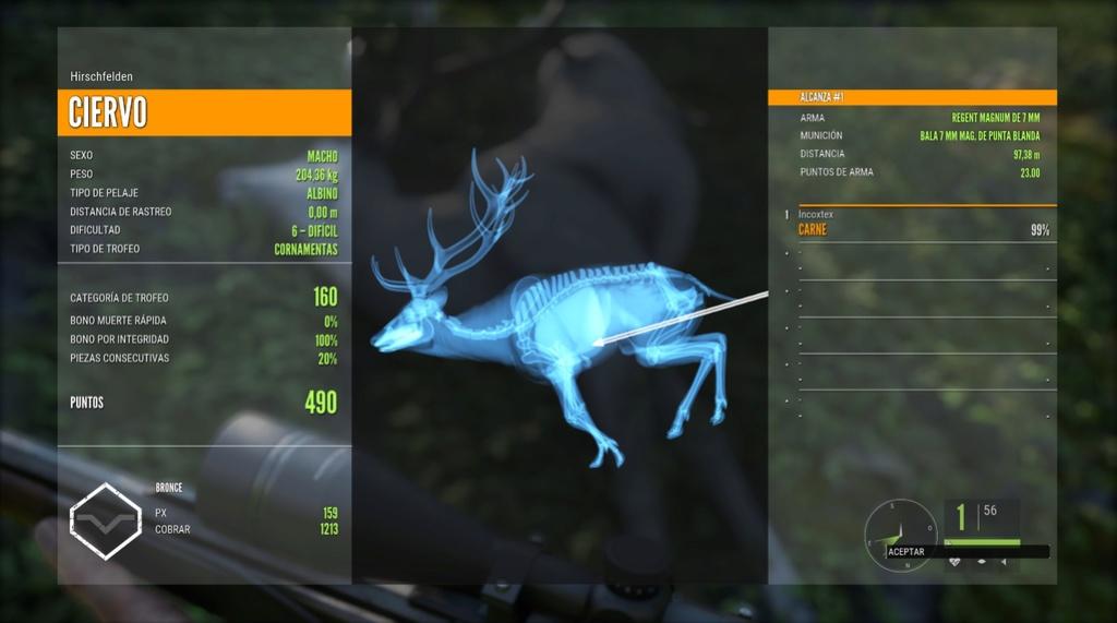Un buen día de caza 20170329
