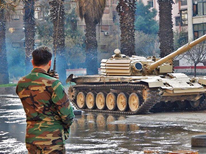المزيد من الحيل السورية لحماية دبابات النظام !! 17498410