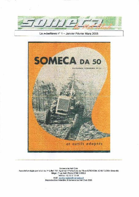 Il était une fois, Someca le Net Club : le journal du Club Nn_110