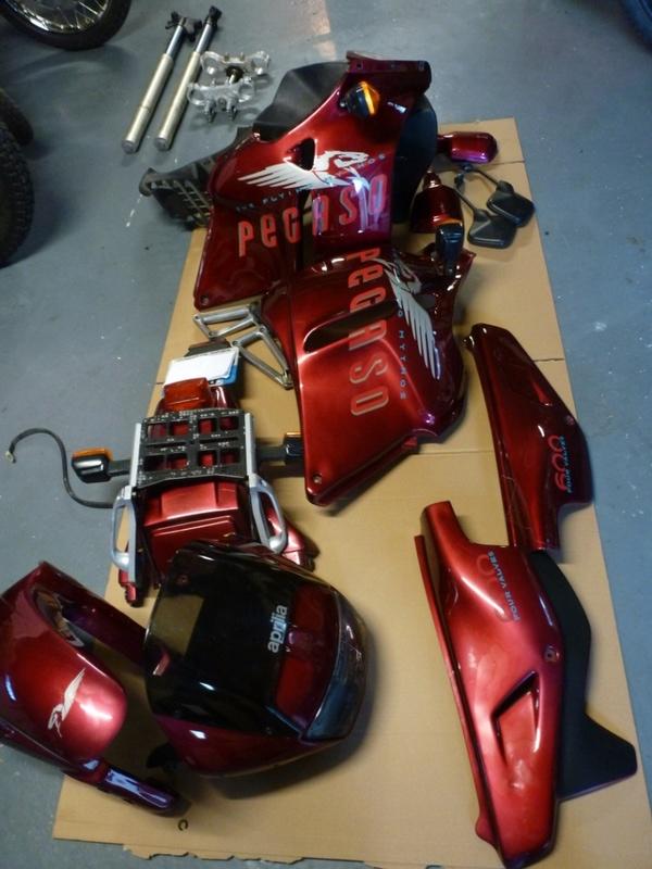 Aprilia rotax flat track P1040910