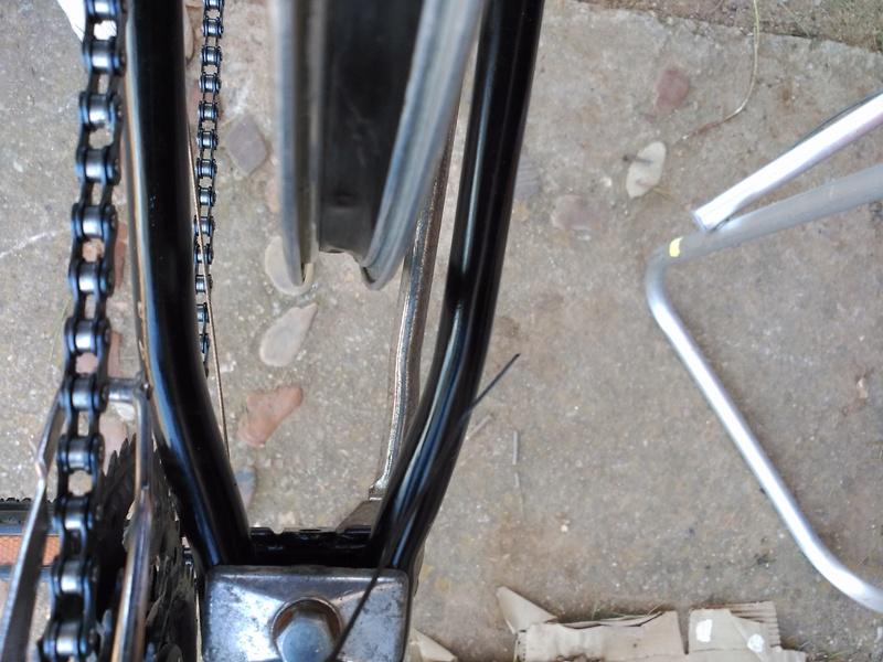 Montaje de mi primera bici eléctrica-  parte ciclo: centrar rueda Img_2013