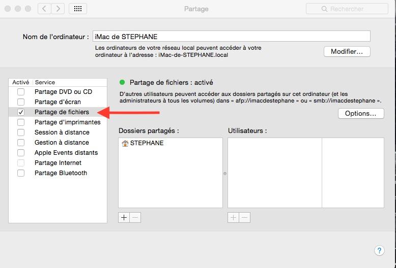 File Explorer : Explorer MacOS à partir d'un android ROOT simplement. Partag10