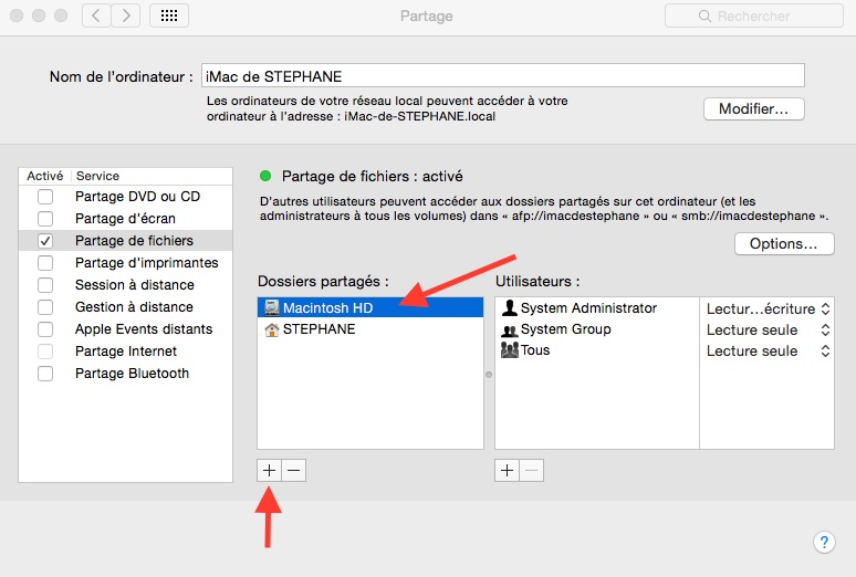 File Explorer : Explorer MacOS à partir d'un android ROOT simplement. Partag11