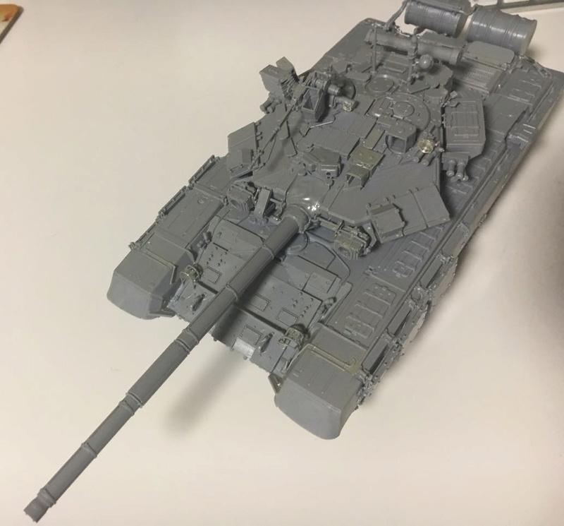 Т 90 (звезда) первая моя модель  1_t9011