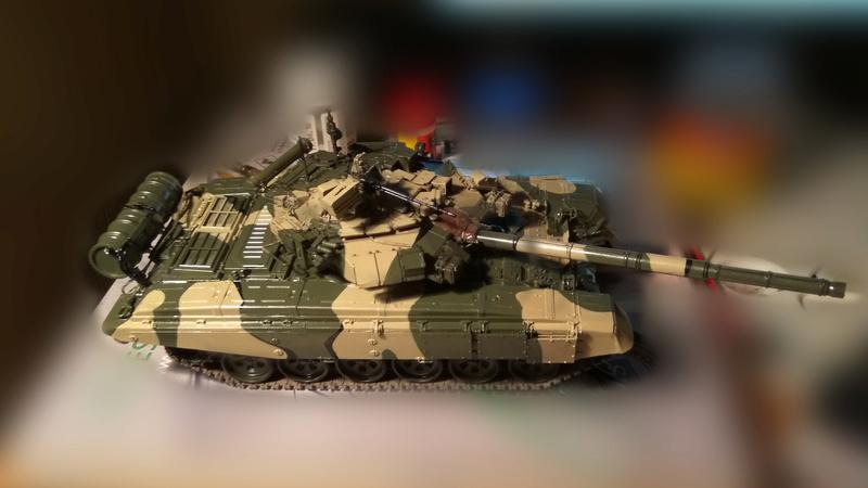 Т 90 (звезда) первая моя модель  3_t9011