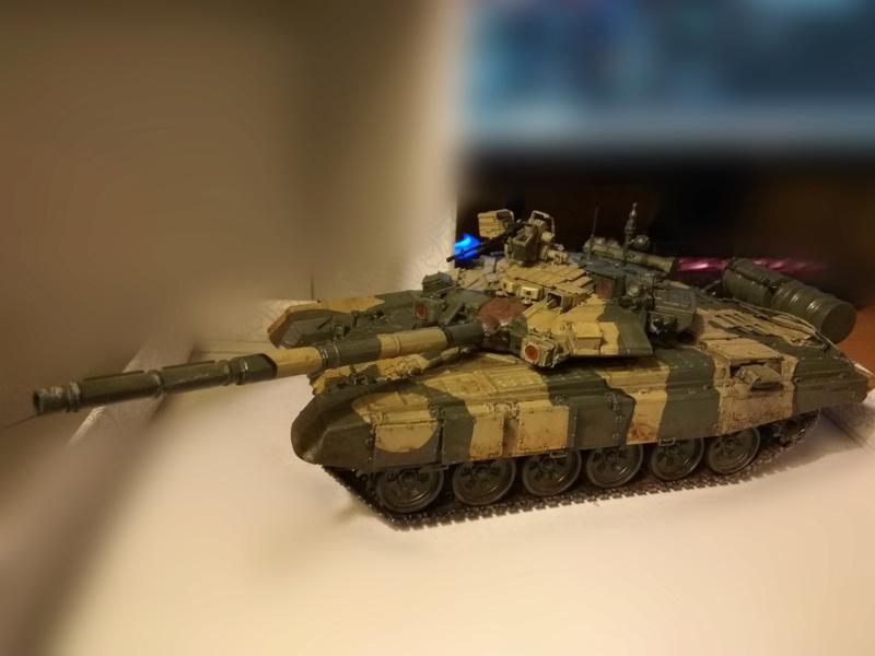 Т 90 (звезда) первая моя модель  5_t9011