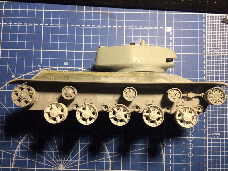 КВ-13 средний танк Xmdrwb10