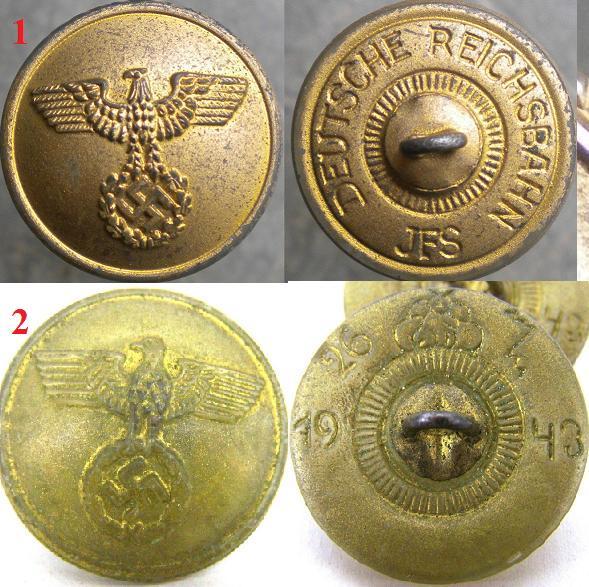 Identificar boton alemán con aguila y esvástica 3b10