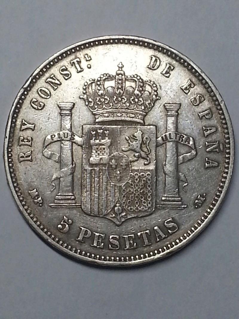 5 pesetas 1888. Alfonso XIII. MPM 5_pest11