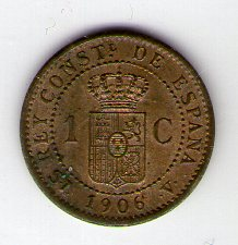 1 céntimo Alfonso XIII 1906 *6 SIV 1_cent11