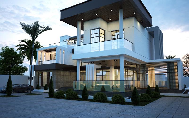 modern villa 0110