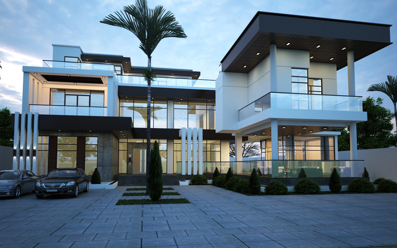 modern villa 0210