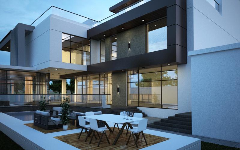 modern villa 0310