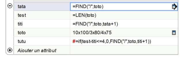 [ SKETCHUP composants dynamiques ] recherche d'un texte dans un autre texte Captu135