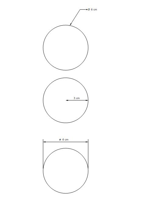 [ SKETCHUP Layout ]  Cotation des Cercles et Congés Captu155