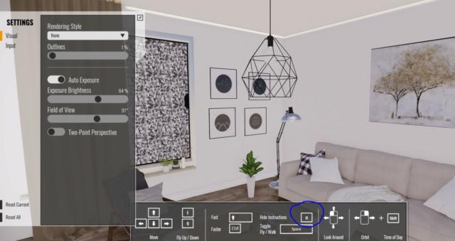 [ SKETCHUP plugins ] Export  VR  avec Enscape  (web et exe) Captu169