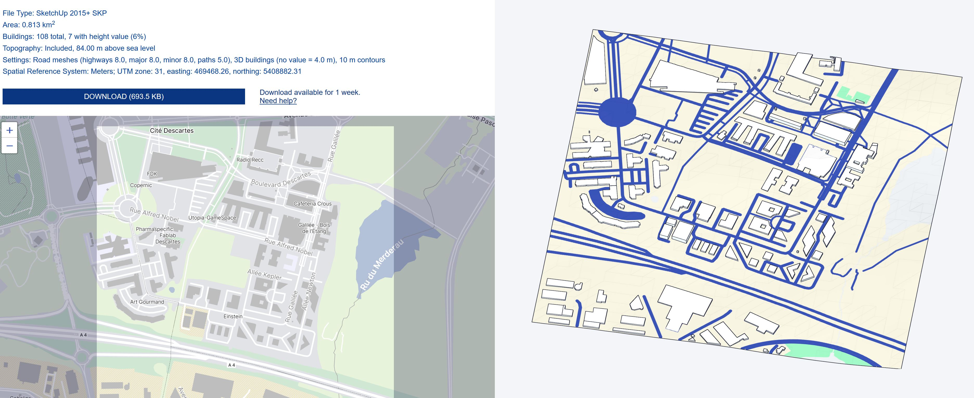 [AUTRES LOGICIELS ] Transformation Image google earth vers axonométrie ville Captu271