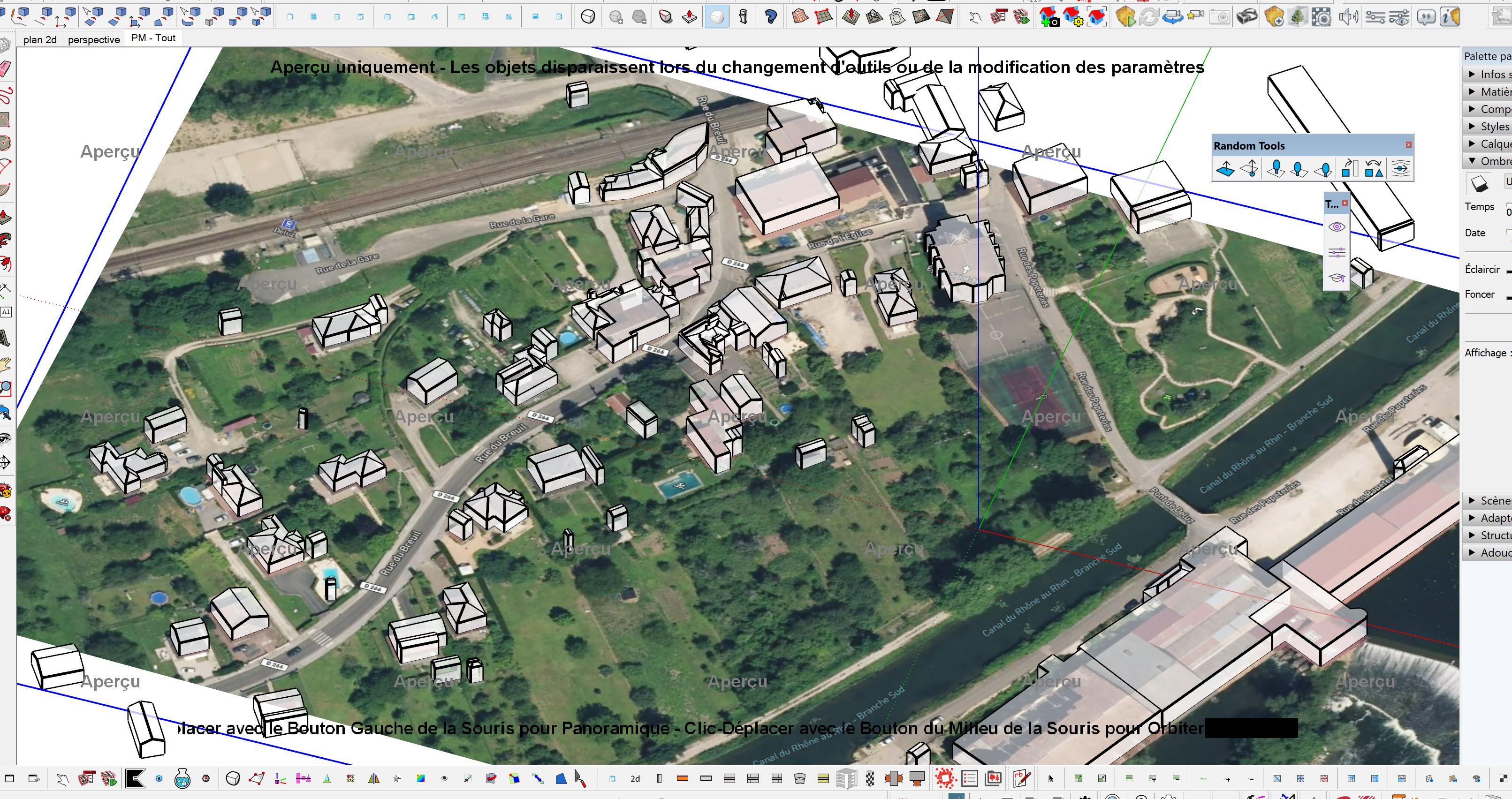 [AUTRES LOGICIELS ] Transformation Image google earth vers axonométrie ville Captu274
