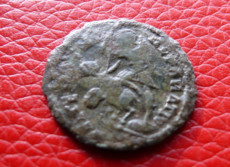 AE3 de Constancio II. FEL TEMP REPARATIO. (repintada) Revers10
