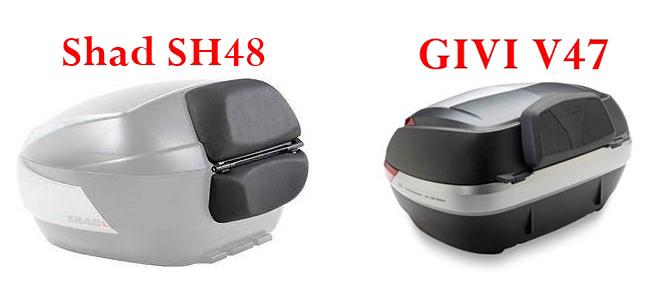 Presupuesto Baul Top Box Shad SH48 Compar11