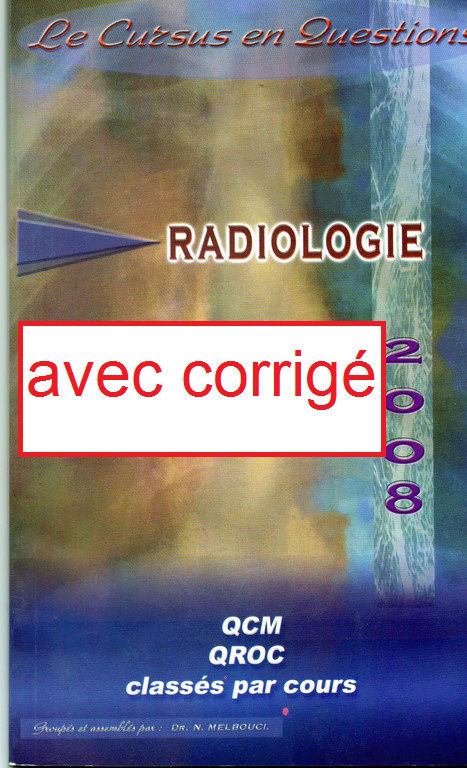 Livre de QCM de Radiologie - Melbouci + CORRIGE  Pocket10