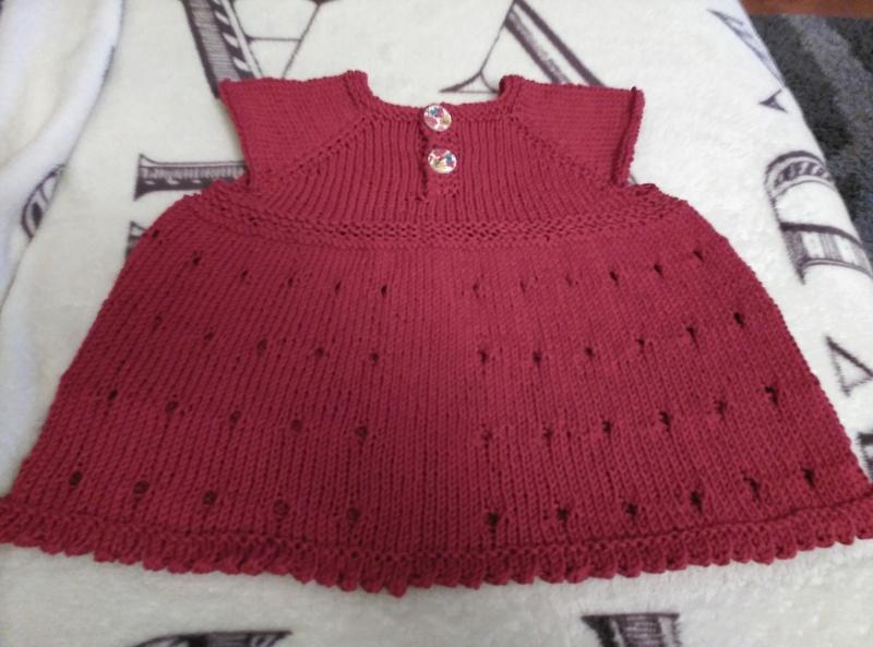 bebe - Vestido bebe calado  Img_2011