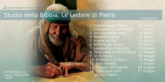 Studio della Bibbia, Le Lettere di Pietro, Sabati dal 8 Aprile - 17 Giugno 2017 Ii_tri10
