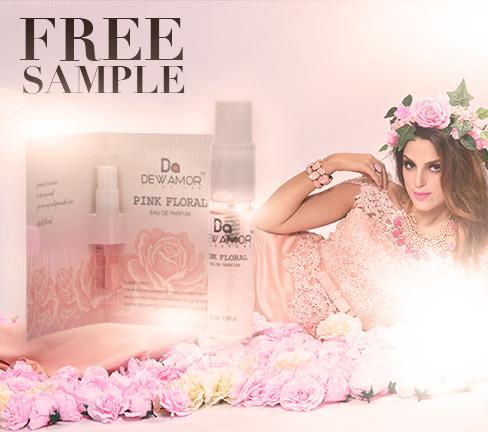 Amostra Perfume Dewamor - Pink Floral Design11