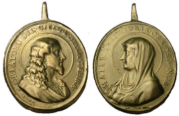 G-029.Cristo Salvator Mundi / Mater Salvatoris (R.M. SXVIII-O355) Foto11