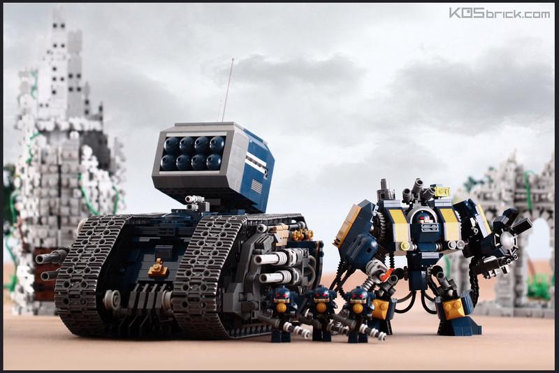 [Lego] Warhammer 40000 Hg10