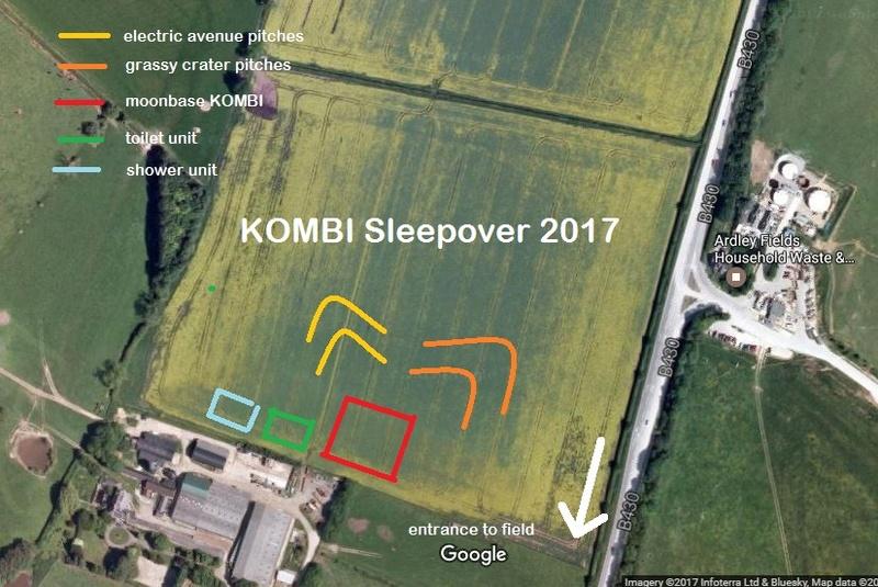 kombi - KOMBI Sleepover 2017 12th to 14th May Ardley, Oxon. Ashgro10