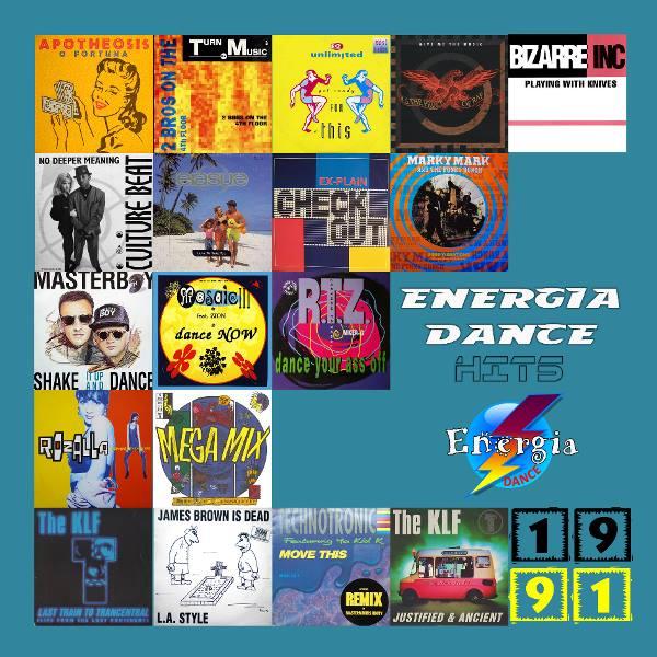 24Mar2017 ★ VA - Energia Dance Hits 1991 ★ 2017 A10
