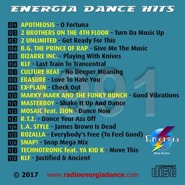24Mar2017 ★ VA - Energia Dance Hits 1991 ★ 2017 B10