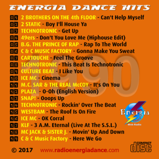 24Mar2017 ★ VA - Energia Dance Hits 1990 ★ 2017 Energi10