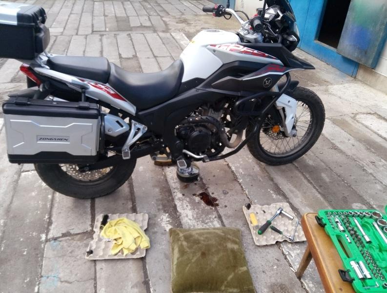 Мой первый мотоцикл... Zongshen RX3 - Страница 2 P7032510