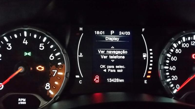 GPS no Display do painel do Renegade 20170310