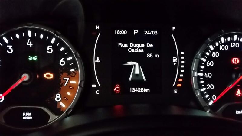 GPS no Display do painel do Renegade 20170311
