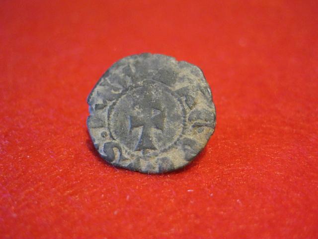 Dinero de vellón Jaime II de Aragón 1291-1327 Sariñena Mediev11