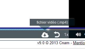 Téléchargement des vidéos de cours Captur10