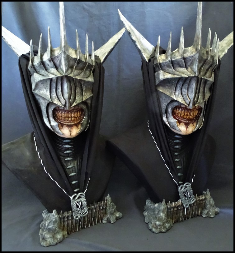 Mouth of Sauron lifesize bust (LOTR) Mouth_38
